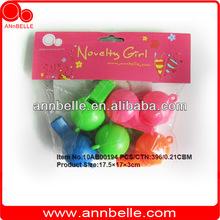 ANnBELLE 6.5*3.5*3.5cm round whistle 6pcs birthday souvenirs birthday giveaways kids birthday party supplies
