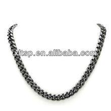 de titanio negro de la cadena- cadena de frenar