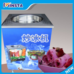 Commercial Big Size Yoghourt Fry Ice Cream Machine