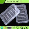 White Black Airline Fast Food Disposable Frozen Ovenable Meal Tray