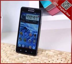 Original Lenovo P780 Phone 5.0 MTK6589 Quad Core Lenovo P780 Android 4.2 Dual Sim GPS Mobile Phone