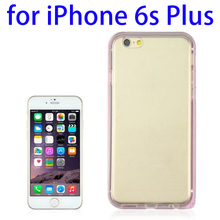 Promotion Gift Hybrid 2 in 1 TPU + Ultra-thin Aluminium Alloy Frame case for iPhone 6S Plus