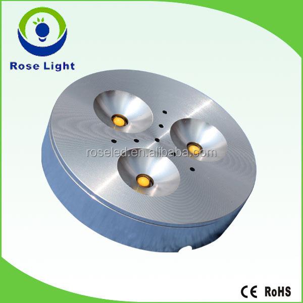 12v led puck light 3w dimmable led under cabinet light buy 120v led. Black Bedroom Furniture Sets. Home Design Ideas