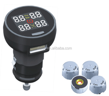 Wireless tire pressure system transmission of data TPMS sensors for all car models tire pressure monitoring TPMS