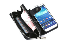 High quality leather phone case for samsung galaxy s4