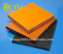 Orange /black bakelite sheet