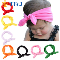 1 PCS Baby Kids Girl Child Toddler Infant Flower Floral Bow Hairband Turban Knot Rabbit Headband Headwear Hair Band Accessories