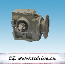 S series helical worm gearbox with AC motor for crane