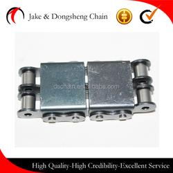 Zhejiang yongkang DSC Top tray simplex/duplex conveyor chains