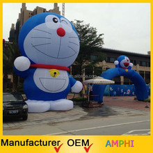 2015 new style hot selling inflatable blue cat model