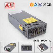 constant voltage smps Switch Power Supply 1000W 12V DC LED Short Circuit Protection Output