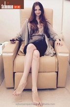 Can Turn Up Air Massage Chair For Beauty Nail and Pedicure
