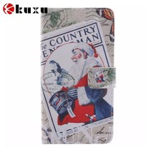for Samsung Note 3 Folio Flip Front PU + Back PC Case