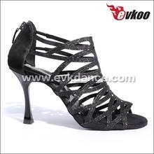 Danza latino nuovo stile scarpe scarpe da ballo nere