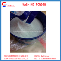 Washing detergent powder making formula