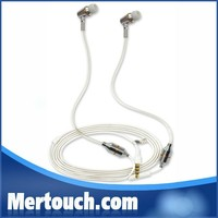Anti Radiation Safe Dual Track Headsets for iPhone 6 6 plus Radiation Proof FC12 Air Tube Earphones