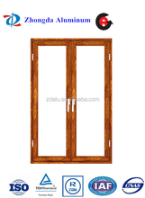 Aluminum alloy casement door exterior