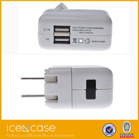 2015 Charging Station pad battery charger / Travel 2 Port USB Wall Charger for IPAD