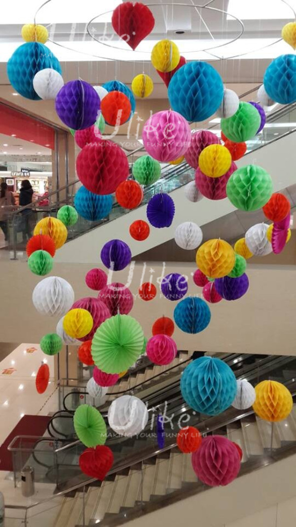 Events party supplies different paper decorations tissue paper pom ulk w1304cccg ulk w1304zg mightylinksfo