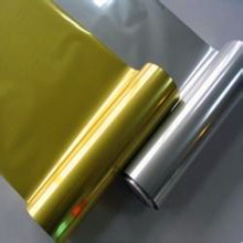 Printable Laminating and flexible packing Metalized Film, Gold, Silver
