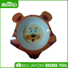 Cat shaped cute design cheap durable dry and wet feeder for pig, pet bowl