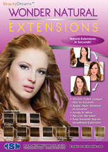 Wonder Natural Extensions with Slip-ON Invisible Headband Secret Extension