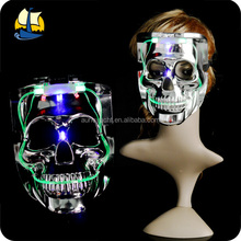 flashing skull custom made masquerade masks