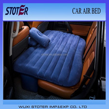 inflatable car back seat air bed mattress with pillow