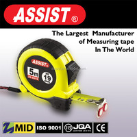 High quality round and hot sale 3m 5m 7.5m rubber electric tape measure