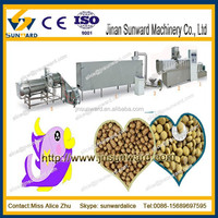 Floating fish food processing line/ fish fodder maker/ feeding food equipment