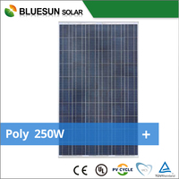 High efficiency poly 250w solar pv modules with good price per watt