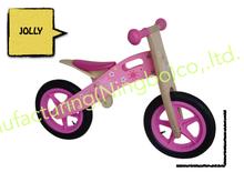 "Woody 12"" balance bike Pink SNOWFLAKE"
