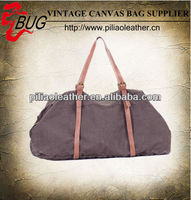 2013 new canvas travelling bag/ vintage canvas luggage