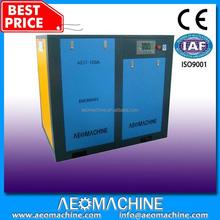 Hot Selling Best cheap 12 bar Heavy Duty High Pressure Industrial Electric Rotary Screw Belt Compressor