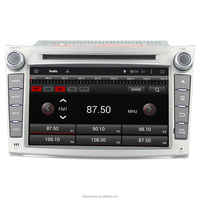 2 Din Android 4.4 Rockchip A9 quad-core Car Dvd With Gps Navigation for Subaru outback