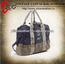 Hot sale popular hand painter canvas bag canvas travel bag
