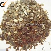 Bulk vermiculite of crude silver vermiculite ore