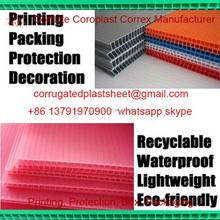 corex corrugated plastic sheet