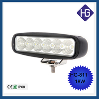 2015 Promotion 18W led working light work light search light for ATV/Truck/Tractor 4x4 off road