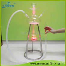 TOP SALE New Led light hookah glass