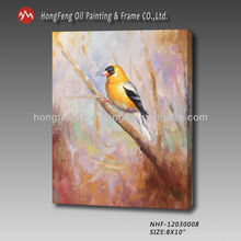 new design hot selling classic animal painting of birds