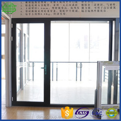 high quality competitive price powder coating aluminium door supplies