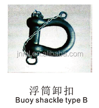 Anchor chain manufacturers marine hardware mooring buoy shackle type B for ship