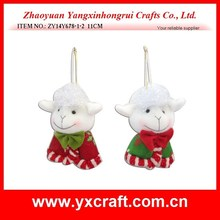 christmas decoration (ZY14Y678-1-2) sheep toy