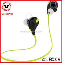 VOSOVO new items in china market wireless bluetooth sport stereo headset earbuds