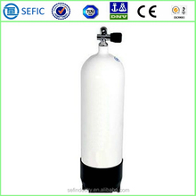 2015 Latest High Pressure Aluminum Scuba Cylinder with TPED/DOT/CE Certificates