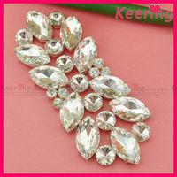 Bulk sale decorative 3d flatback embellishments for wedding dresses WRE-115
