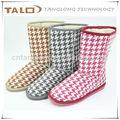 Confortáveis botas de inverno, carregadores das mulheres, botas até o joelho, botas de neve, botas quentes