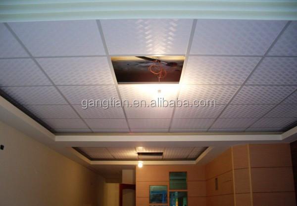 Modernos diseños falso techo de yeso del pvc para el salón ...