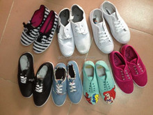 Miscellaneous canvas shoes stock shoes mixed style